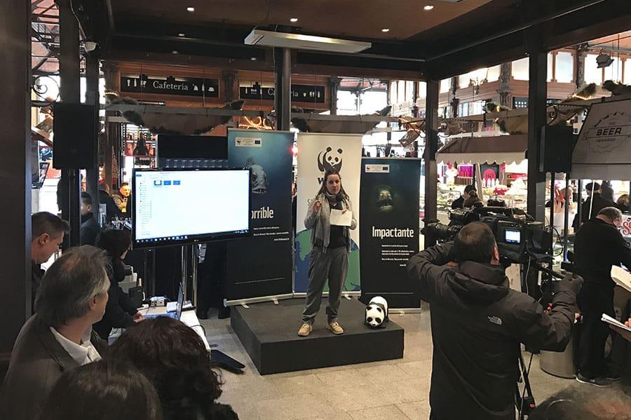 WWF Exposición de la Aplicación
